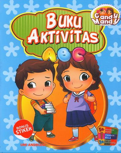 Cover Buku Buku Aktivitas ABC Candy Mandy