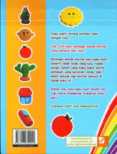 Cover Belakang Buku Kreasi Clay untuk Anak 1