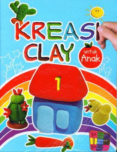 Cover Buku Kreasi Clay untuk Anak 1