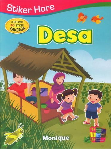 Cover Buku Stiker Hore : Desa