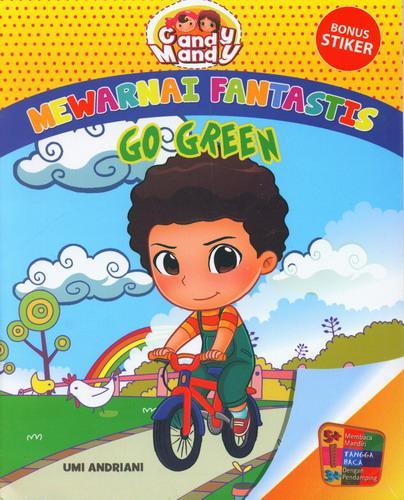 Cover Buku Mewarnai Fantastis : Go Green Bersama Candy Mandy