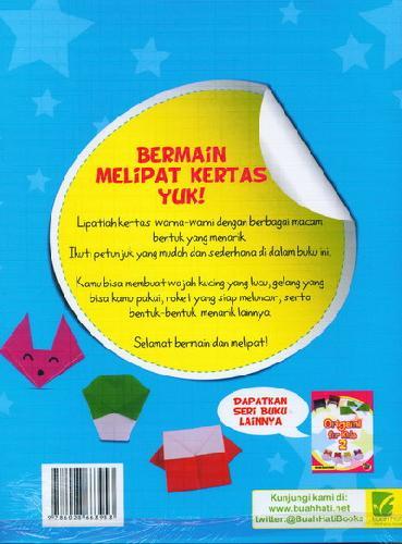 Cover Belakang Buku Origami For Kids 1