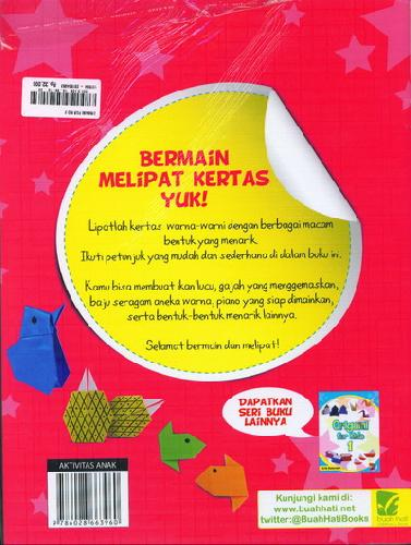 Cover Belakang Buku Origami For Kids 2