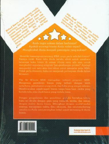 Cover Belakang Buku The 80 Minute MBA - Menjadi Master Bisnis Tanpa Sekolah
