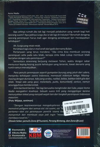 Cover Belakang Buku Surga yang Tak Dirindukan (Cover film)