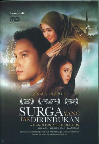 Cover Buku Surga yang Tak Dirindukan (Cover film)