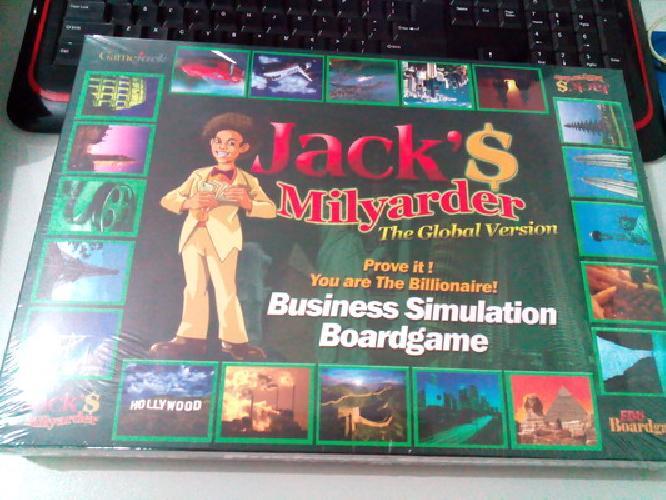 Cover Buku Jacks Miilyarder The Global Version