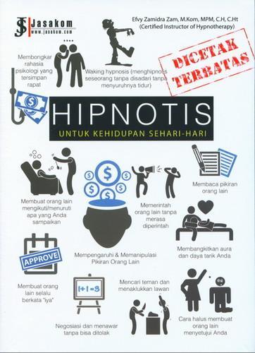 Cover Buku Hipnotis: Untuk Kehidupan Sehari Hari