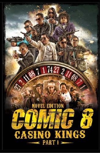Cover Buku Comic 8 : Casino Kings Part 1 / Novel Edition
