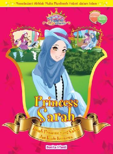 Cover Buku Princess Sarah: Kisah Princess Yang Sabar dan Kado Istimewa
