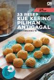 Step by Step: 33 Resep Kue Kering Pilihan Antigagal (Bonus DVD)