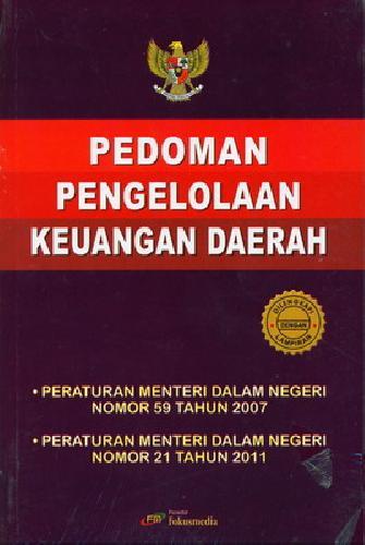 Cover Buku Pedoman Pengelolaan Keuangan Daerah (Dilengkapi dengan Lampiran)