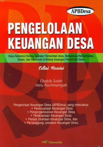 Cover Buku Pengelolaan Keuangan Desa (APBDesa) Edisi Revisi