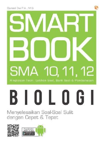 Cover Buku Sma Kl 10-12 Smart Book Biologi