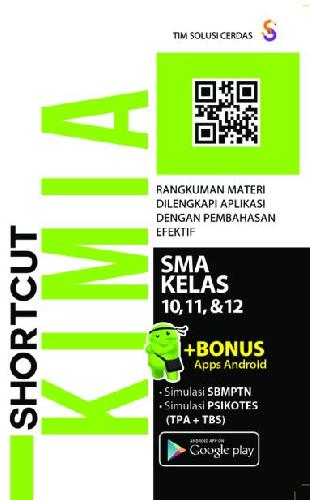 Cover Buku SHORCUT KIMIA SMA KELAS 10,11,12