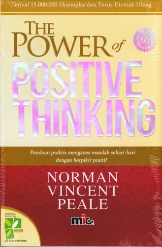 Cover Buku The Power Of Positive Thinking