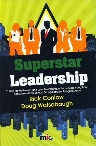 Cover Buku Superstar Leadership