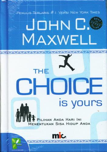 Cover Buku The Choice is Yours