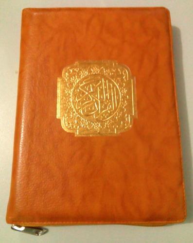 Cover Buku MUSHAF AL-QURAN SAHIFA DILENGKAPI TAJWID WARNA COKELAT
