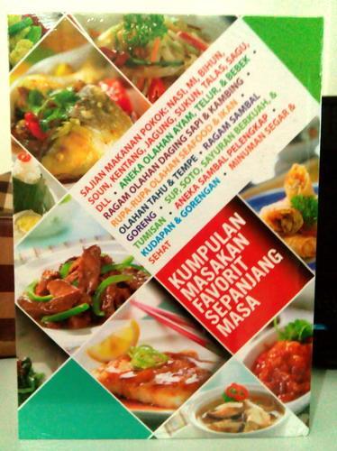 Cover Belakang Buku Kumpulan Masakan Favorit Sepanjang Masa