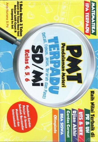 Cover Buku Sd/Mi Kl 4-6 Pendalaman Materi Terpadu (Pmt)