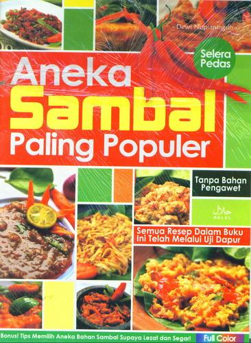 Cover Buku Aneka Sambal Paling Populer