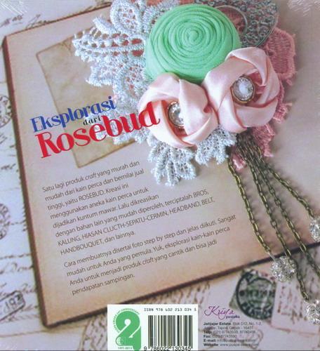 Cover Belakang Buku Eksplorasi Dari Rosebud