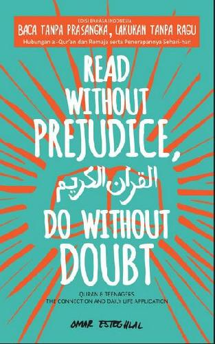 Cover Buku Read Without Prejudice. Do Without Doubt