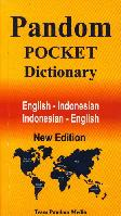 Pandom Pocket Dictionary English-Indonesia - Indonesia-Enggris New Edition
