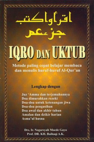 Cover Buku IQRO dan UKTUB