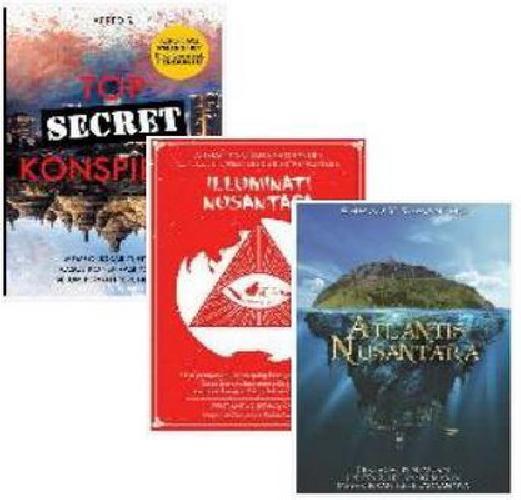 Cover Buku Paket Konspirasi Nusantara