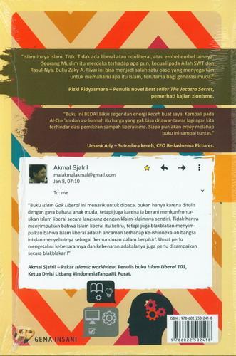 Cover Belakang Buku Islam Gak Liberal
