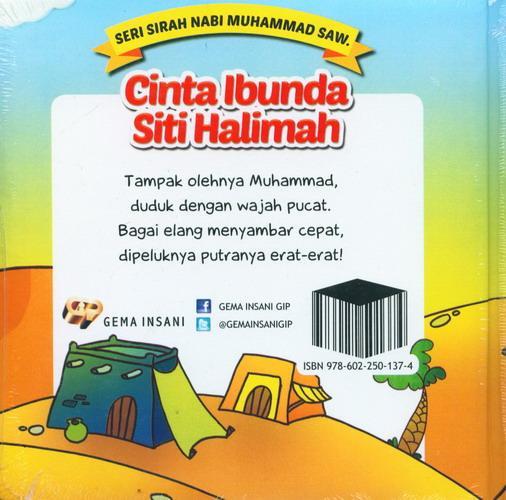 Cover Belakang Buku Seri Sirah Nabi Muhammad Saw. 9 : Cinta Ibunda Siti Halimah