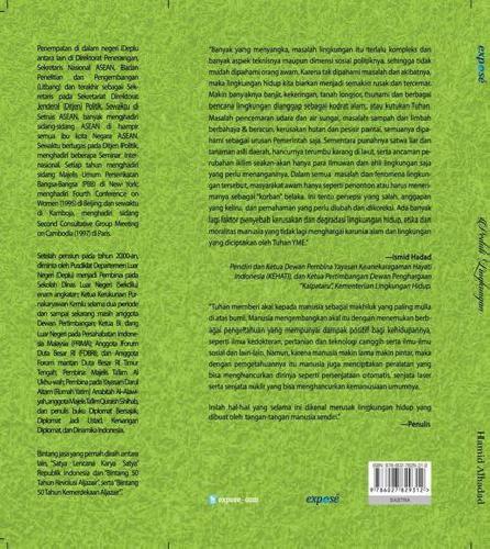 Cover Belakang Buku Peduli Lingkungan