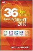36 Jam Belajar Komputer Microsoft Office 2013