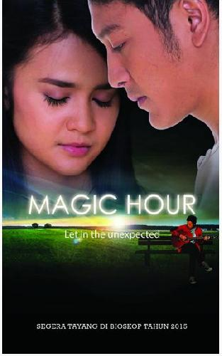 Cover Buku Magic Hour Let In The Unexpected