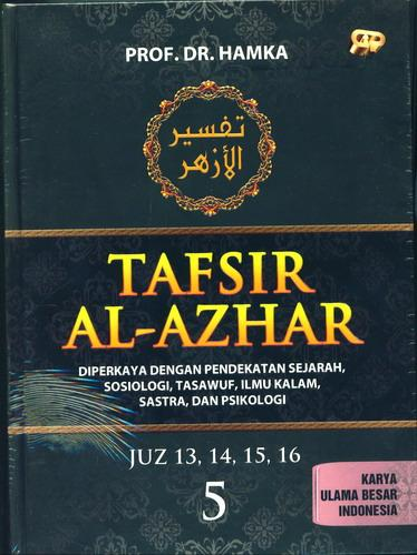 Cover Buku Tafsir Al-Azhar Jilid 5