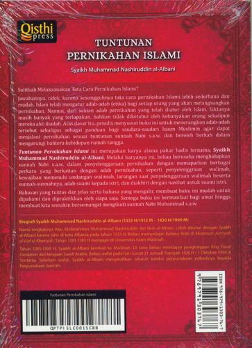 Cover Belakang Buku Tuntunan Pernikahan Islami
