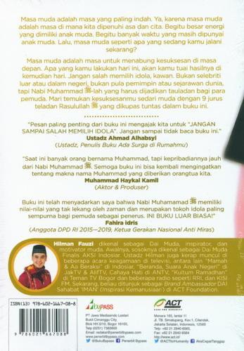 Cover Belakang Buku Muhammad Muda Gue Banget
