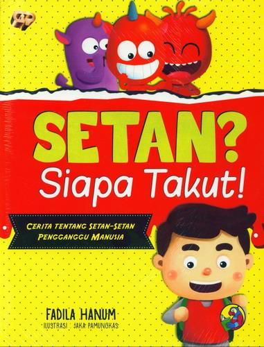 Cover Buku Setan? Siapa takut