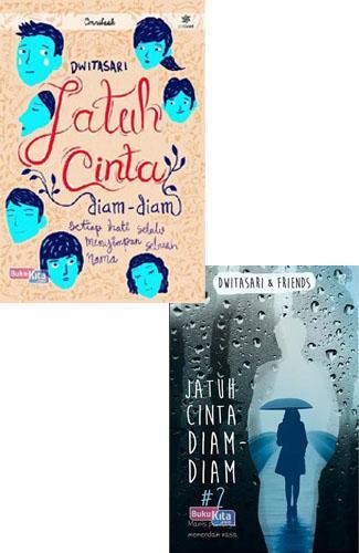 Cover Buku Paket Jatuh Cinta Diam-Diam
