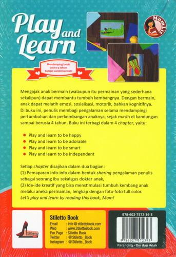 Cover Belakang Buku Play And Learn