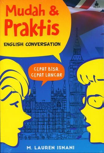 Cover Buku Mudah dan Praktis English Conversation