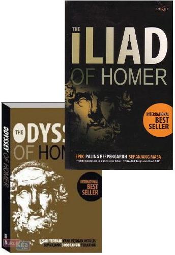 Cover Buku Paket Homer (Paket Murah)