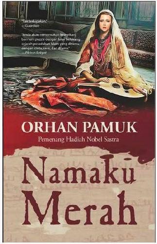 Cover Buku Namaku Merah