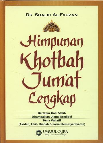 Cover Buku Himpunan Khotbah Jumat Lengkap (Hard Cover)