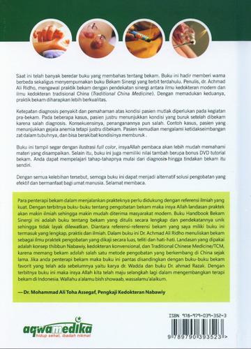 Cover Belakang Buku Bekam Sinergi Edisi Penyempurnaan (Full Colour)