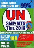 Soal-Soal Prediksi Jitu 99% UN SMP/MTS 2016