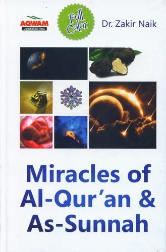Cover Buku Miracles of Al-Quran dan As-Sunnah (Hard Cover)