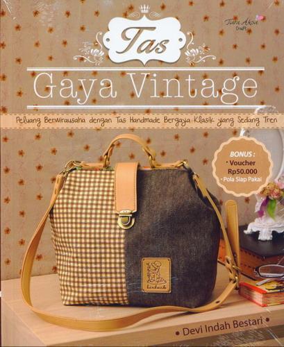 Cover Buku Tas Gaya Vintage